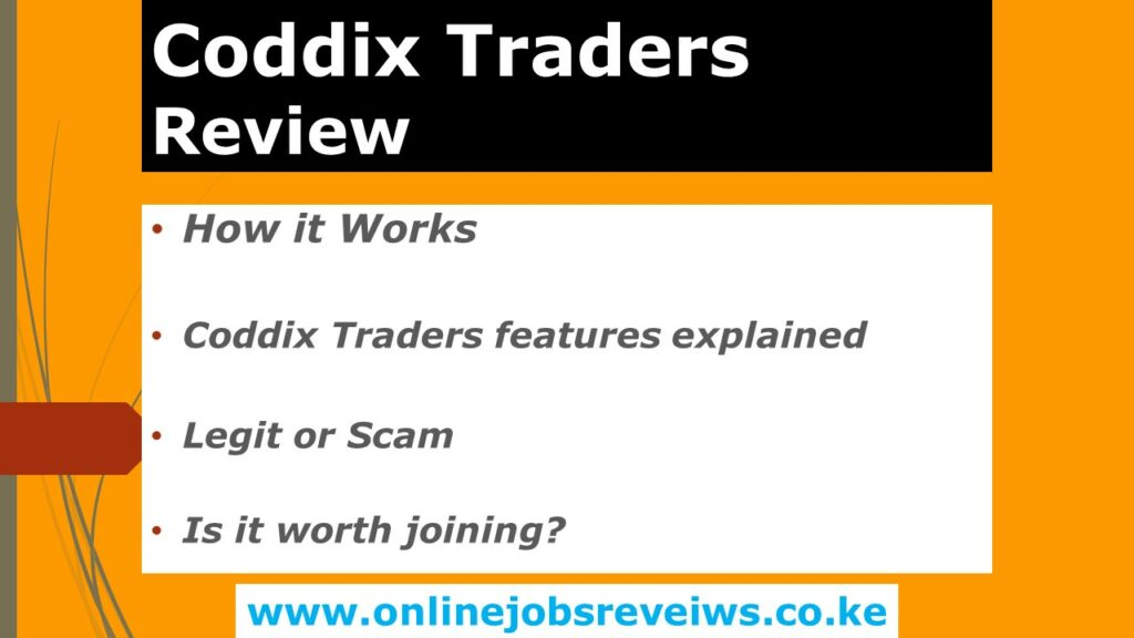 Coddix Traders Review
